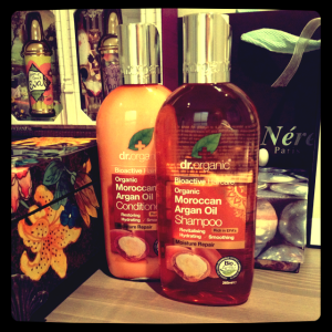 Dr Organic Moroccan Argan Oil Shampoo and Conditioner