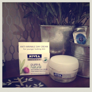 Nivea face cream for thirsty winter skin