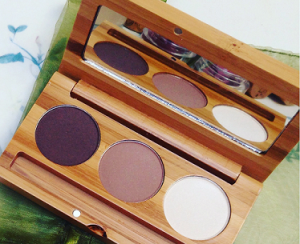 Elate Clean Cosmetics eyeshadow trio Sage