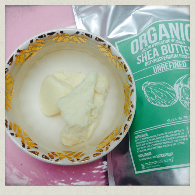 Organic unrefined shea butter